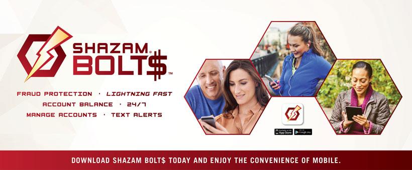 Shazam Bolt$ › Sherwood Community Bank